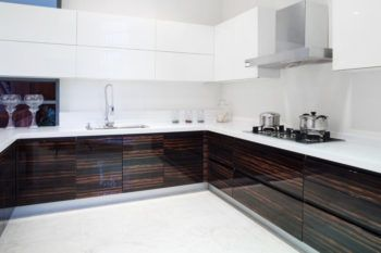 Modern kitchen interior and furnitures